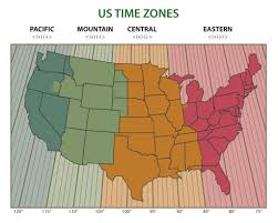 Is Time Zone Map by Toj U0027s Fishing U0026 Hunting Times U2013 Texas Outdoors Journal