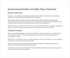 28 health and safety statement template health and safety