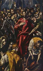 the disrobing of christ 1579 by el greco