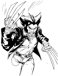 wolvereine coloring pages coloring