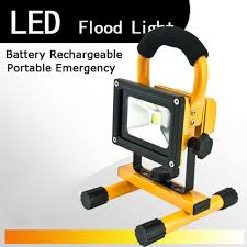 10w rechargeable flood light 2017 promotion new ccc flood lights rechargeable led floodlight