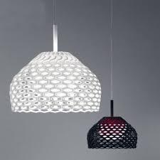 Modern Black Pendant Light Modern Black Lattice Polycarbonate Pendant Light Beautifulhalo