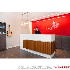 Acrylic Reception Desk Tabletops Reception Wanbest Industrial Co Ltd