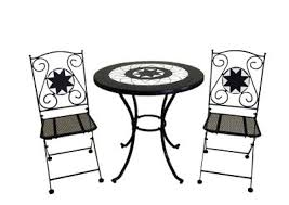 Tesco Bistro Chairs Buy Rimini Bistro Set 60cm Table With 2 Folding Chairs From Our