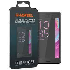 9h tempered glass screen protector sony xperia x performance
