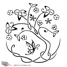 symbol celtic tree of tattoomagz