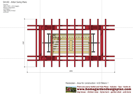 arbor swing plans free home garden plans sw100 arbor swing plans swing woodworking