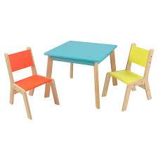 Table Picnic Table Plans Furniture Designs 7 Design Modern by Amazon Com Kidkraft Highlighter Modern Table U0026 Chair Set Toys