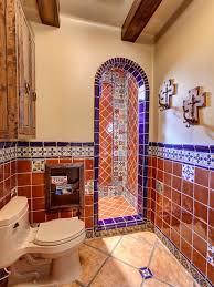 mexican tile bathroom designs pleasant design mexican tile bathroom ideas sinks and vanities