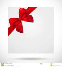 holiday card christmas gift birthday card bow royalty free
