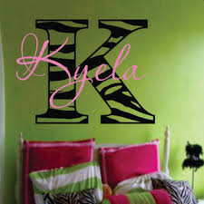 zebra print wall decal inspirational home decorating fancy