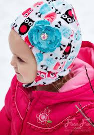 newborn pattern video baby hat with chin strap free pattern fleece fun