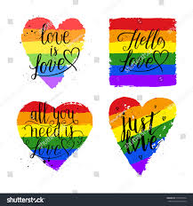 lgbt pride greeting cards stock vector 515557234