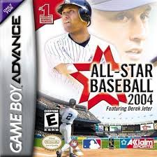 Backyard Baseball 2004 Download All Star Baseball 2004 Feat Derek Jeter Gba Gameboy Advance Gba