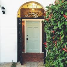 door painted benjamin moore u0027s palladian blue painted brick in