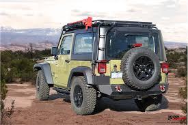 gobi jeep bagażnik dachowy stealth na 4 lampy led jeep wrangler jk 2