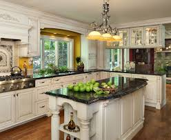 dark cabinets and dark countertops kitchen paint colors black high