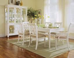 antique white dining room by american drew
