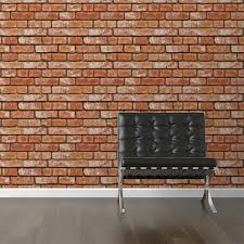 Wallpaper Removable Realistic Brick Removable Wallpaper 2 U0027w X 4 U0027h Walls Need Love