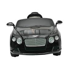 bentley suv matte black amazon com bentley gtc kids 6v electric ride on toy car w parent