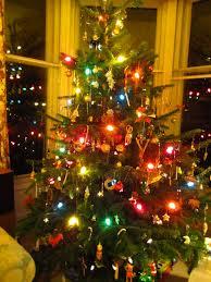 fashioned christmas tree fancy design fashioned christmas tree lights blue