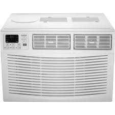 Small Air Conditioner For A Bedroom Frigidaire 12 000 Btu Window Air Conditioner With Heat And Remote