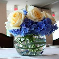 blue centerpieces blue flowers for wedding centerpieces kantora info