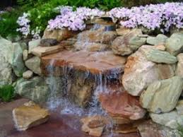 Rock Garden With Water Feature How To Build An Outdoor Rock Water Feature Boise Idaho