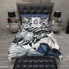 animal print butterfly duvet bedding sets ink and rags
