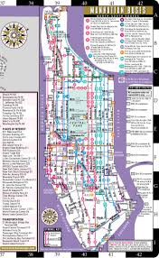 Manhattan Map Subway by Streetwise Manhattan Map Laminated City Street Map Of Manhattan