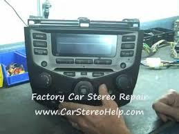 honda accord 2005 radio code how to honda accord radio car stereo bose code repair replace cd