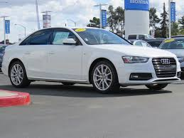 audi a4 used 2014 used audi a4 4dr sedan cvt fronttrak 2 0t premium plus at