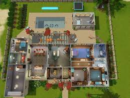 Garden Home House Plans Beautiful Sims 3 House Designs Home Images Decorating Design