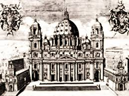 chi ha progettato la cupola di san pietro 14 maggio 1590 roma viene ultimata la cupola di san pietro