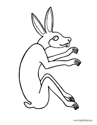 hare coloring pages hellokids com