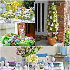 easter decorations for the home easter decoration 27 ideas for colorful atmosphere in the house