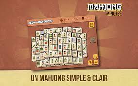 jeux mahjong cuisine application mahjong minutes sur iphone et android