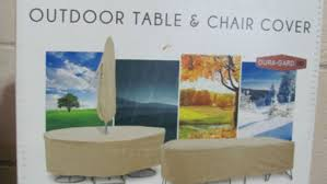 Outdoor Table And Chair Cover Outdoor Table And Chair Covers Rectangular Ocucf Chair Cover