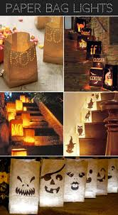 paper bag luminaries halloween spook takular halloween decorations 19 easy diy ideas to have