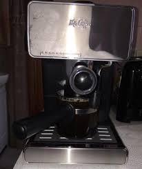 Walmart Coffee Bean Grinder Mr Coffee Espresso Maker Red Bvmc Ecm260r Walmart Com