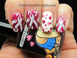 breast cancer awareness nail art pictures photos and images for