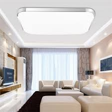 Modern Ceiling Lights Living Room Modern Square Led Light 12w 18w 24w Ceiling L Kitchen