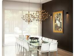 dining room table glass top contemporary dining room by elad gonen