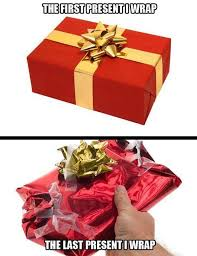 Wrapping Presents Meme - pin by judy boucher on christmas pinterest christmas humor