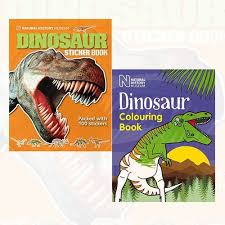 dinosaur colouring book 2 children books collection natural