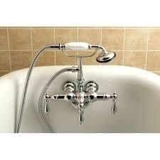 vintage bathtub faucets kingston brass vintage clawfoot tub faucet reviews wayfair