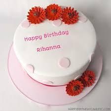 Happy Birthday Cake For Rihanna