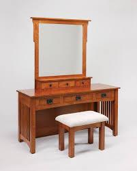 Mission Style Bathroom Vanity by Amish Mission Vanity Table