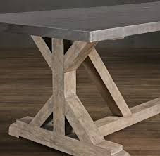 Build A Dining Room Table Diy Rustic X Base Console Table Console Tables Consoles And Tables