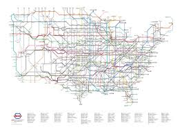Map Of Northeast Us Project U S Routes As A Subway Map Cameron Booth